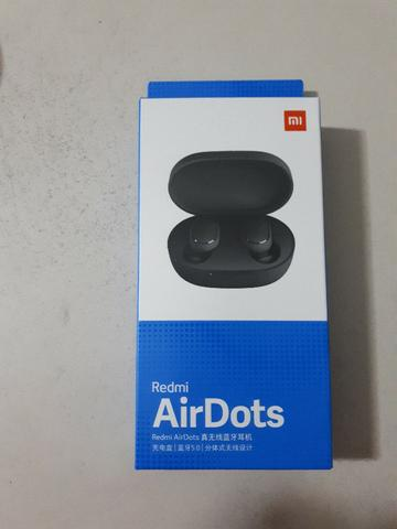 Fone de Ouvido Xiaomi Redmi Airdots Bluetooth - Preto