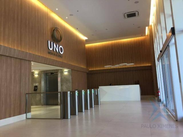 Sala à venda Uno Medical & Office, 38 m² por R$ 450.000 - Dionisio Torres - Fortaleza/CE - Foto 2