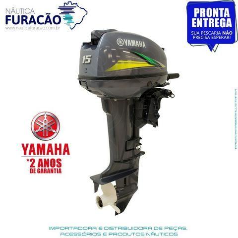 Motor de Popa Yamaha 15hp (Partida Manual) - Foto 5