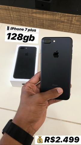 IPhone 7 Plus 128gb aparelho de vitrine