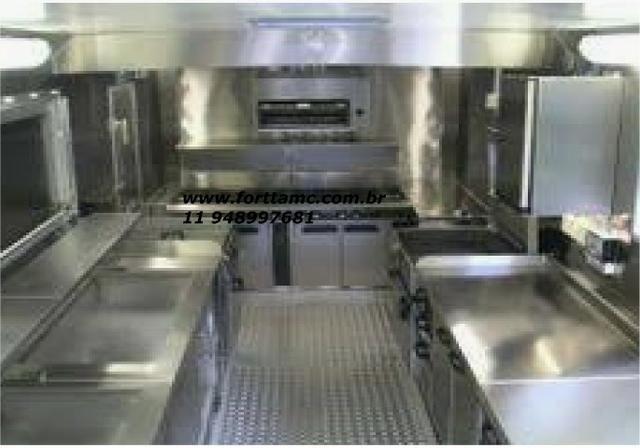 Food truck peças sob medida em inox - Foto 2