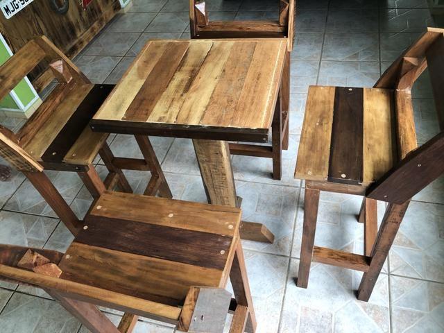 Móveis de madeira de demolição - Foto 4