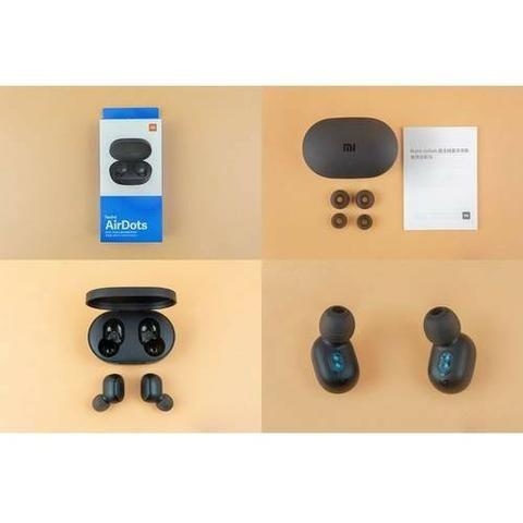 Fone de Ouvido Xiaomi Redmi Airdots Bluetooth - Preto - Foto 4