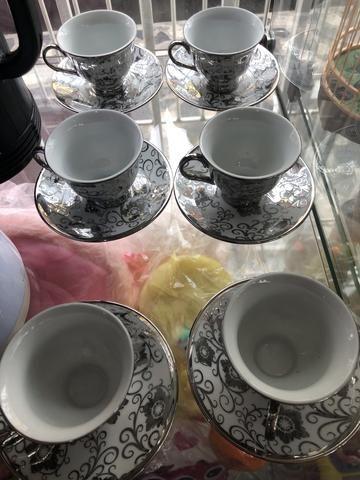 Conjunto de xícara para cafezinho por 49 reais