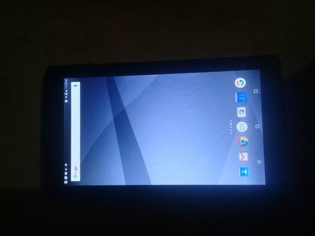 Troco Tablet Semi novo em Celular. - Foto 3