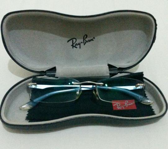 Vendo óculos Ray Ban original. Armação + lente - Bijouterias ... 33d4154528