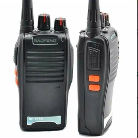 Kit 2 Radio Comunicador Walk Talk Baofeng 777s Profissional - Foto 2