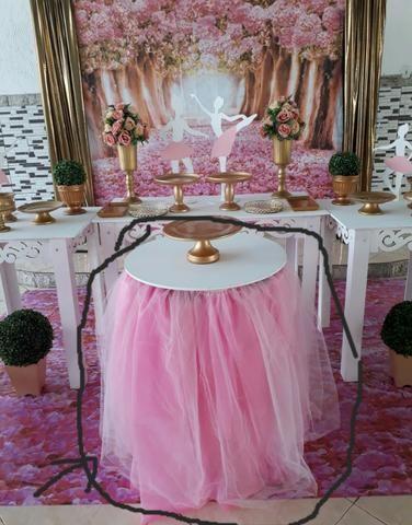 e2b83b321e Saia e bonecas de mesa - bailarina - Objetos de decoração - Centro ...
