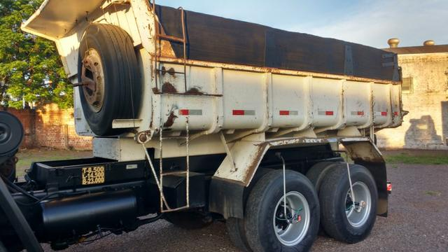 Ford Cargo 1622 truck 6x2 com caçamba Rosseti 10m3 unico dono - Foto 16