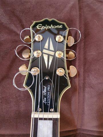Guitarra EpiPhone Les Paul Custom Pro - Super Nova!! - Foto 6