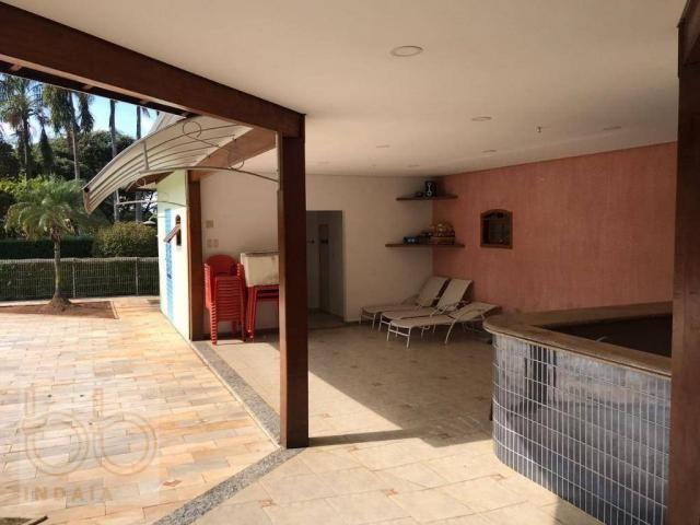 Casa com 4 dormitórios para alugar, 578 m² por R$ 12.000,00/mês - Condomínio Helvetia Coun - Foto 9