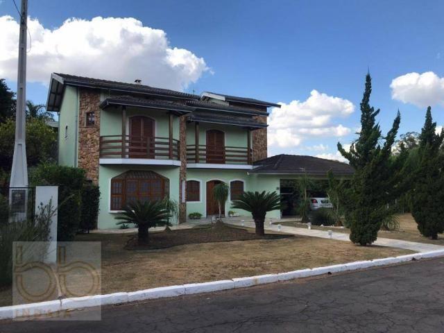 Casa com 4 dormitórios para alugar, 578 m² por R$ 12.000,00/mês - Condomínio Helvetia Coun - Foto 18