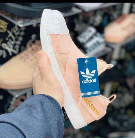 Tênis adidas slip on  - Foto 4