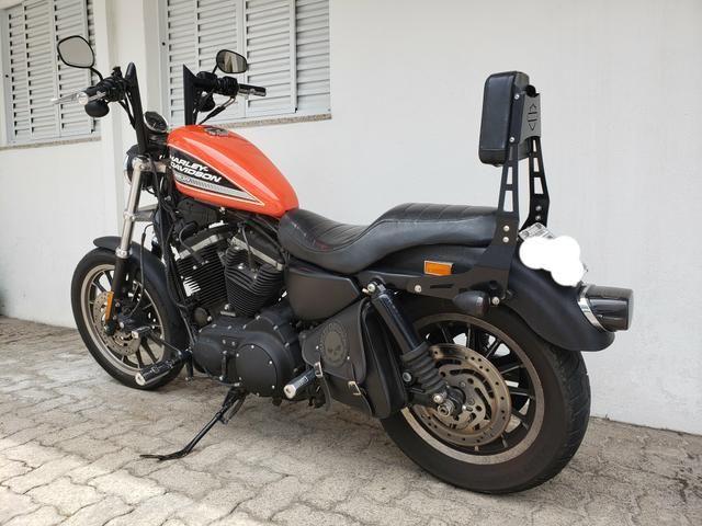 Sissy Bar Harley 883R, iron, sportster - Foto 4