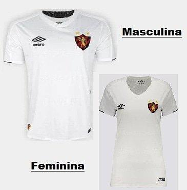 Camisa Oficial do Sport / Ele & Ela - Foto 2