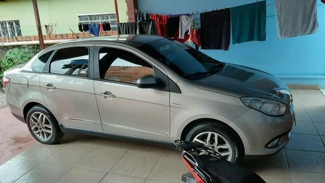 Vendo carro gran Siena 1.6 automático dual log - Foto 6