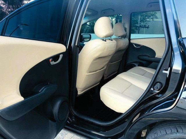 Honda Fit Ex 1.5 Automático - 2014 Com Couro - Foto 13