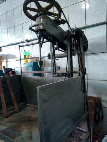 Máquina de retificar e brunir cilindro - Foto 3
