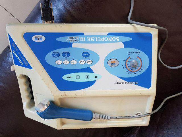 Vendo ultra-som de 1 e 3 Mghtz sonopulse ibramed