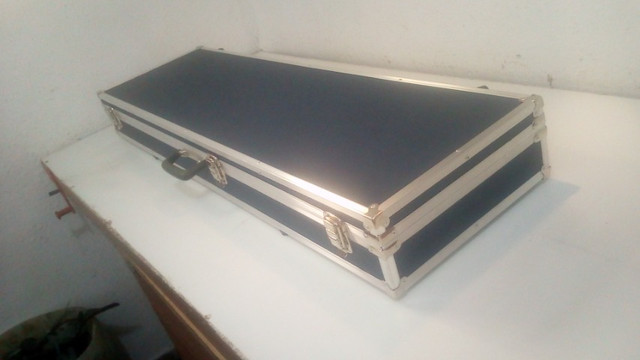 Hard cases para teclados, Sintetizadores e Pianos Eletronicos