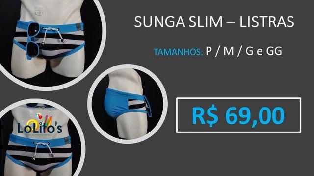 Sunga Slim - Listras