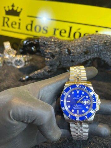 Rolex submariner pulseira trabalhada novo