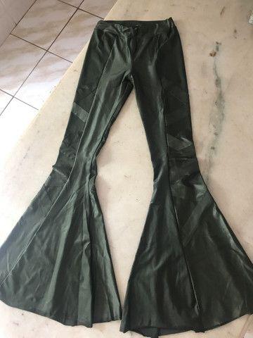 Calça fleer cirrê verde militar