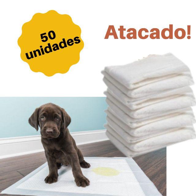 Tapete Higienico 1a. linha pacote econômico com 70 unid, 50 unid ou 30 unid - Foto 3