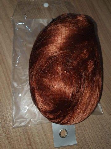 Rabo de cavalo americano - cabelo vermelho - Foto 3