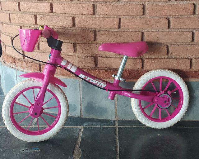Bicicleta infantil sem pedal 110 reais