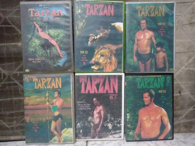 Vários DVD'S de tarzan
