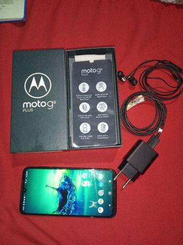 Moto G8 PLUS COM CAIXA - Foto 4