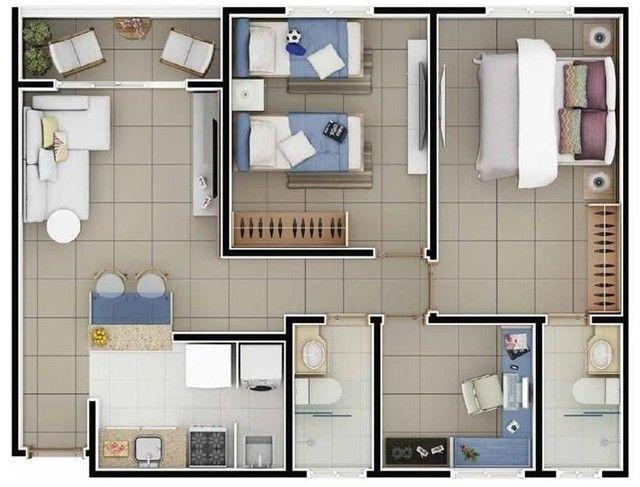 Apartamento  com 3 quartos no Passaré - Fortaleza - CE - Foto 13