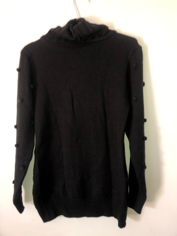 Blusa feminina de lã com gola M marca Fashion - Foto 4