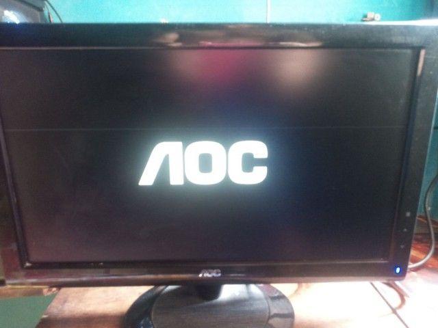 Monitor AOC 18 polegadas LCD
