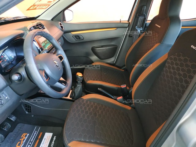 Renault KWID OUTSIDER 1.0 2021 700 km ipva pago - Foto 15