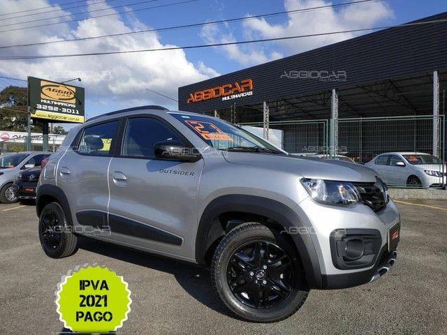 Renault KWID OUTSIDER 1.0 2021 700 km ipva pago