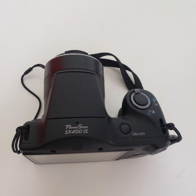 Câmera Digital Compacta Canon PowerShot SX400 IS 16MP Preto - Foto 4