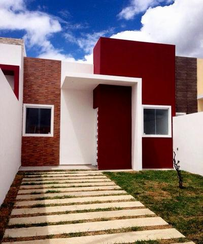 Portal Suldoeste, Casa Nova 02 quartos sendo 01 suíte Aceita FGTS na entrada