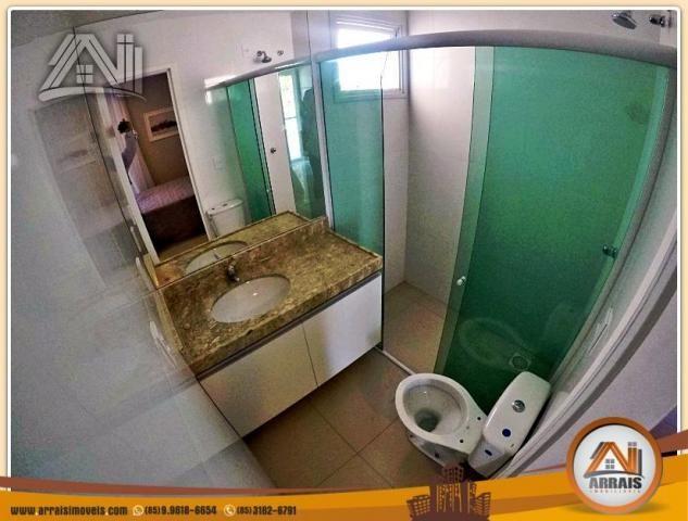 Vendo casa duplex em condomínio c/ 3 suítes no Eusébio - Foto 16