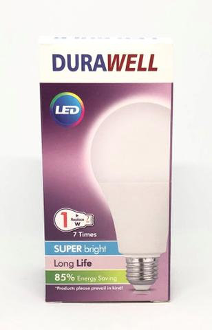 Lâmpada 12w Bulbo Led Super Branca Bivolt Econômica Durawell Nova na Caixa