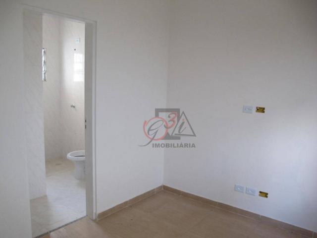 Casa nova 2 dormitorios, 1 suite, 2 vagas, piscina, em condominio Km 44 da Raposo. - Foto 9