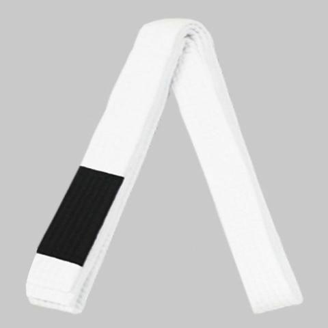 Faixa branca da marca keiko tamanho A3 Jiu Jitsu/Judô trançada e reforçada - Foto 2