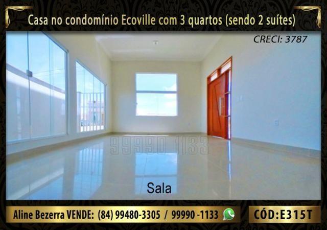 Oportunidade, casa no Ecoville com 3 quartos sendo 2 suítes, aceita financiamento - Foto 3