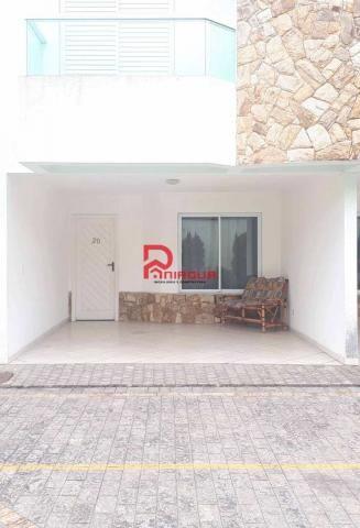 Casa de condomínio para alugar com 3 dormitórios em Canto do forte, Praia grande cod:1251 - Foto 3