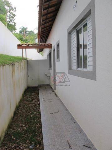 Casa nova 2 dormitorios, 1 suite, 2 vagas, piscina, em condominio Km 44 da Raposo. - Foto 3