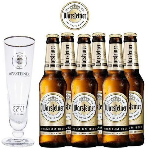 Warsteiner Premium, Ceverja Importda da Alemanha