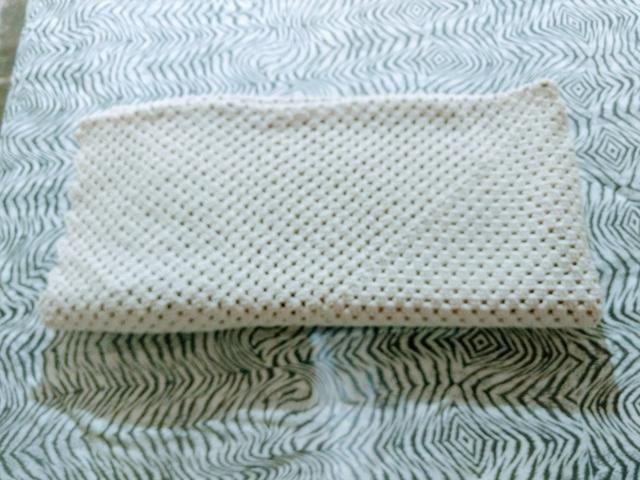 Tapete de crochê feito a mão - Foto 2
