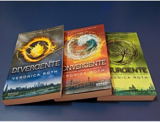 Trilogia Divergente (Divergente, Insurgente, Convergente)