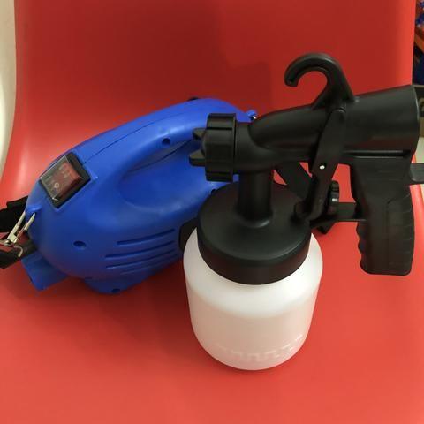 Pistola de pintura e pulverização elétrica 650W NOVA - Foto 2